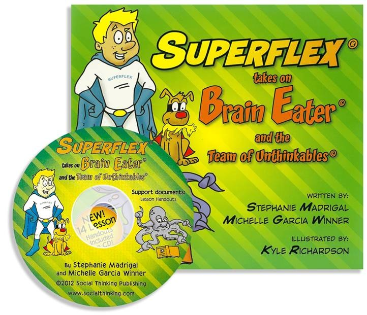 Superflex® Takes on Brain Eater and the Team of Unthinkables
